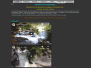 screenshot http://www.ace-chamonix.com adventure canyoning escalade chamonix