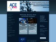 screenshot http://www.ace-pro-nettoyage.fr ace pro nettoyage de bureaux - nettoyage de vitres