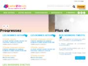 screenshot http://www.achat-nantes.com tous les commerçants de nantes