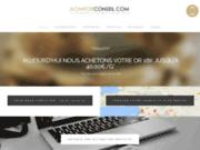 screenshot http://www.achatorconseil.com Achat Or Conseil