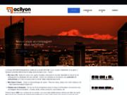 screenshot http://www.acilyon.com conseils aux entreprises et en développement en roumanie