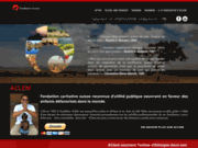 screenshot http://www.aclem.ch aclem - fondation d'aide humanitaire