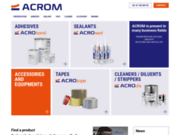 image du site https://www.acrom.fr/adhesif-acrotape/
