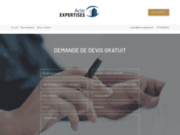 screenshot http://acte-expertises.fr/ acte diagnostics immobiliers
