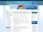 screenshot http://www.acte-experts.com/ audit conseils travaux d'expertise comptable