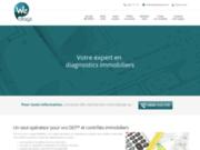 screenshot http://www.actim-diag.com actim diagnostic immobilier