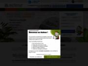 screenshot http://www.actimur.fr/ actimur, expert de la maison saine