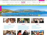screenshot http://www.activa-langues.com activa langues : séjours linguistiques
