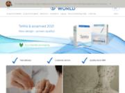 screenshot http://www.acupuncture-sales.com/fr vente en ligne de bandes kinésiologiques et de produits d'acupuncture
