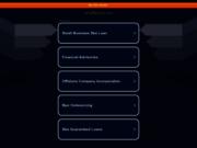 screenshot http://www.ad-offshore.com Création de sociétés Offshore et Européennes