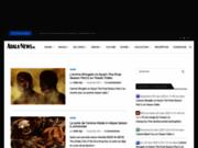 screenshot http://adala-news.fr Adala News le meilleur de l'actu Jeu Vidéo, Manga et Animation Japonaise