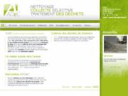 screenshot http://www.adec44.fr Collecte de déchets de chantiers