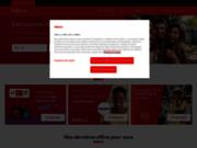 screenshot http://www.adecco.fr/ agence d'emploi