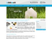 screenshot http://www.adekwatt.fr diagnostics immobiliers: haute savoie 74