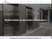 screenshot http://www.adf-ascenseurs.fr maintenance ascenseur