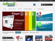 screenshot http://www.adhesif-auto.com décoration adhésive murale