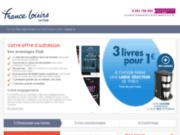 screenshot http://adhesion.france-loisirs.com adhésion au club france loisirs