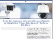 screenshot http://www.adis-alarm.com adis alarm : installation alarme, télésurveillance