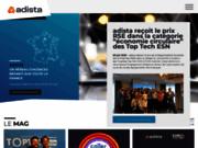 screenshot http://www.adista.fr Adista