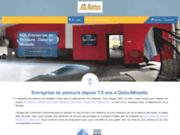 screenshot http://adl-peinture-dabo.fr peinture sarrebourg