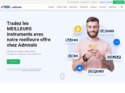 Site de trading en ligne - Broker régulé - Admiral Markets