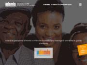 screenshot http://adomis-guadeloupe.com Aide à la personne à Pointe-à-Pitre