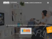 screenshot http://www.adomis-pontarlier.com aide à domicile