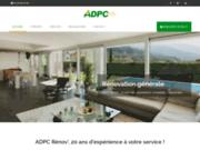 screenshot http://www.adpc59.com plombier, chauffage, panneaux solaires, dépannage rapide, sanitaire, chaudière, cumulus - adpc, lille
