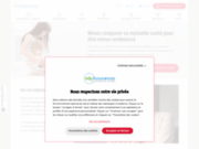 screenshot http://www.adrea-franchecomte.fr/ groupe mutualiste