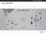 screenshot http://www.ads-securite.fr ads sécurité toulon: alarme videosurveillance télé