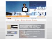 screenshot http://www.adtrad.com experts traducteurs vers l'espagnol