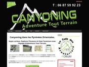 Adventure Tout Terrain Canyoning dans les Pyrénées orientales
