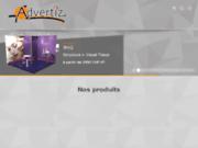screenshot http://www.advertiz.ch advertiz votre spécialiste plv