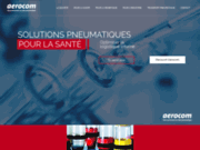 screenshot http://www.aerocom-france.com manutention pneumatique aerocom
