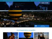 screenshot http://www.aerocom.fr vol montgolfiere