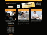 screenshot http://www.aeroformation.eu école de pilotage d'avion