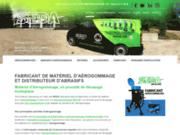 Concepteur et fabricant d'aérogommeuses Français - Aérogommage SEDA