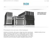 screenshot http://www.aexm.fr depannage mac sur grenoble