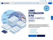 screenshot http://www.af-consulting.fr externalisation de paie pour les tpe/pme
