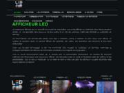 screenshot http://www.afficheur.fr afficheur lcd, led et plasma