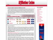 Affiliation casino