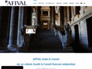 screenshot http://www.afival.fr/ afival audit  conseil - cabinet d'audit et de conseil financier à paris
