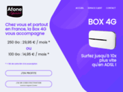screenshot http://www.afonemobile.fr afone commerce