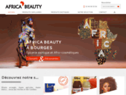 screenshot http://www.africa-beauty.fr/ épicerie et soins de beauté exotiques