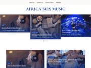 screenshot http://www.africaboxmusic.com le meilleur de la musique africaine en téléchargement