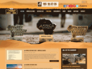 screenshot http://www.africarace.com rallye raid