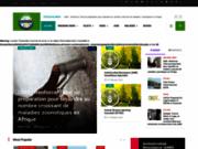 screenshot http://www.africavet.com/ portail de la médecine vétérinaire en afrique