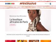 Le site de la boutique Africouleur