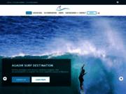 screenshot http://www.agadirsurfdestination.com/ Surf Maroc