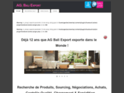screenshot http://agbaliexport.com/ agent bali export